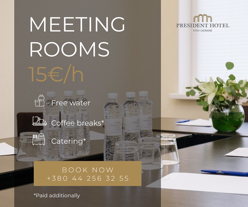 Meeting rooms 15 euro per 1 hour